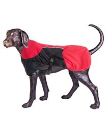 Puff-Doggy - zateplená bunda - Red/Blk - Medium