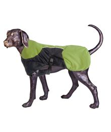 Puff-Doggy - zateplená bunda - Lime/Blk - Medium