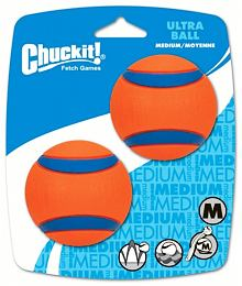 Míčky Ultra Ball Medium 6,5 cm - 2 na kartě