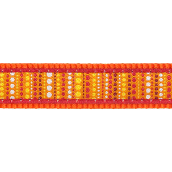 Postroj RD 25 mm x 71-113 cm - Lotzadotz Orange